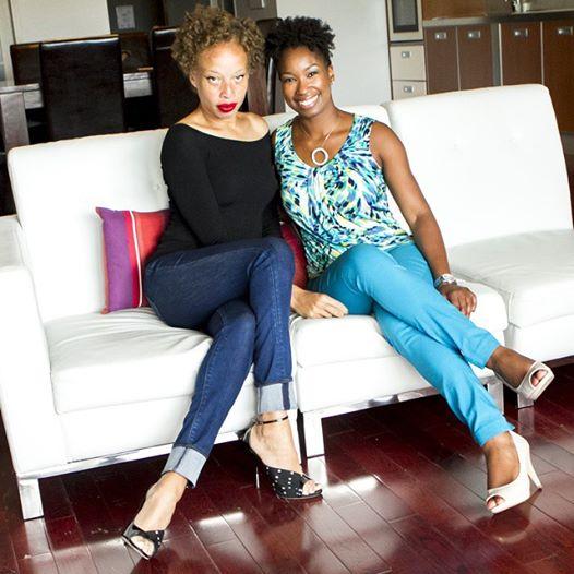 Stacey and Maya Johnson