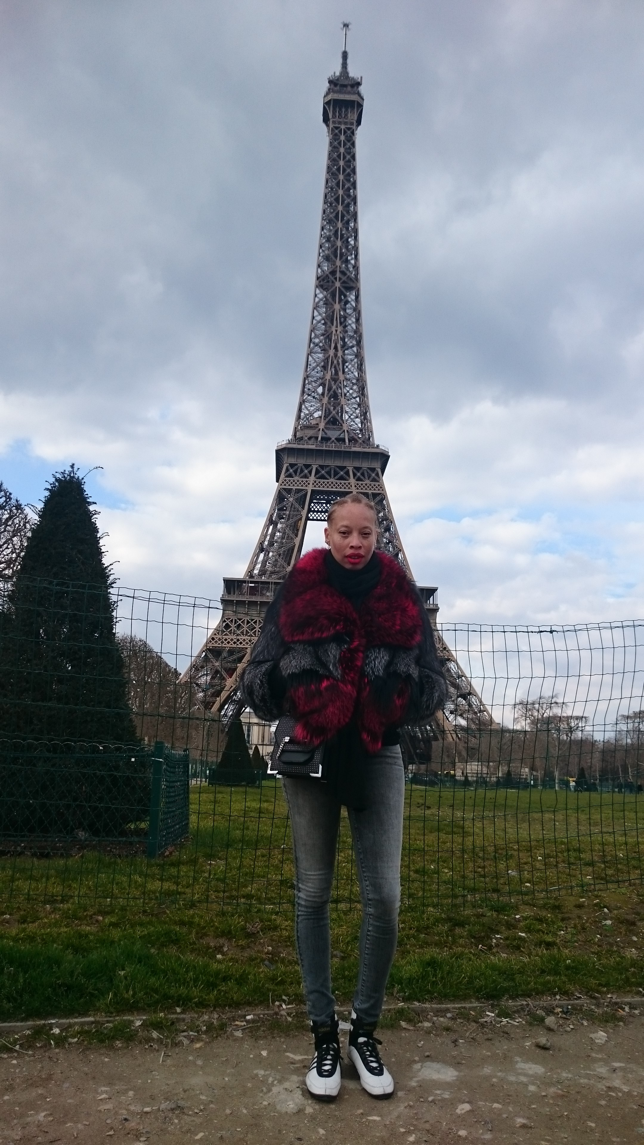 Stacey in Paris