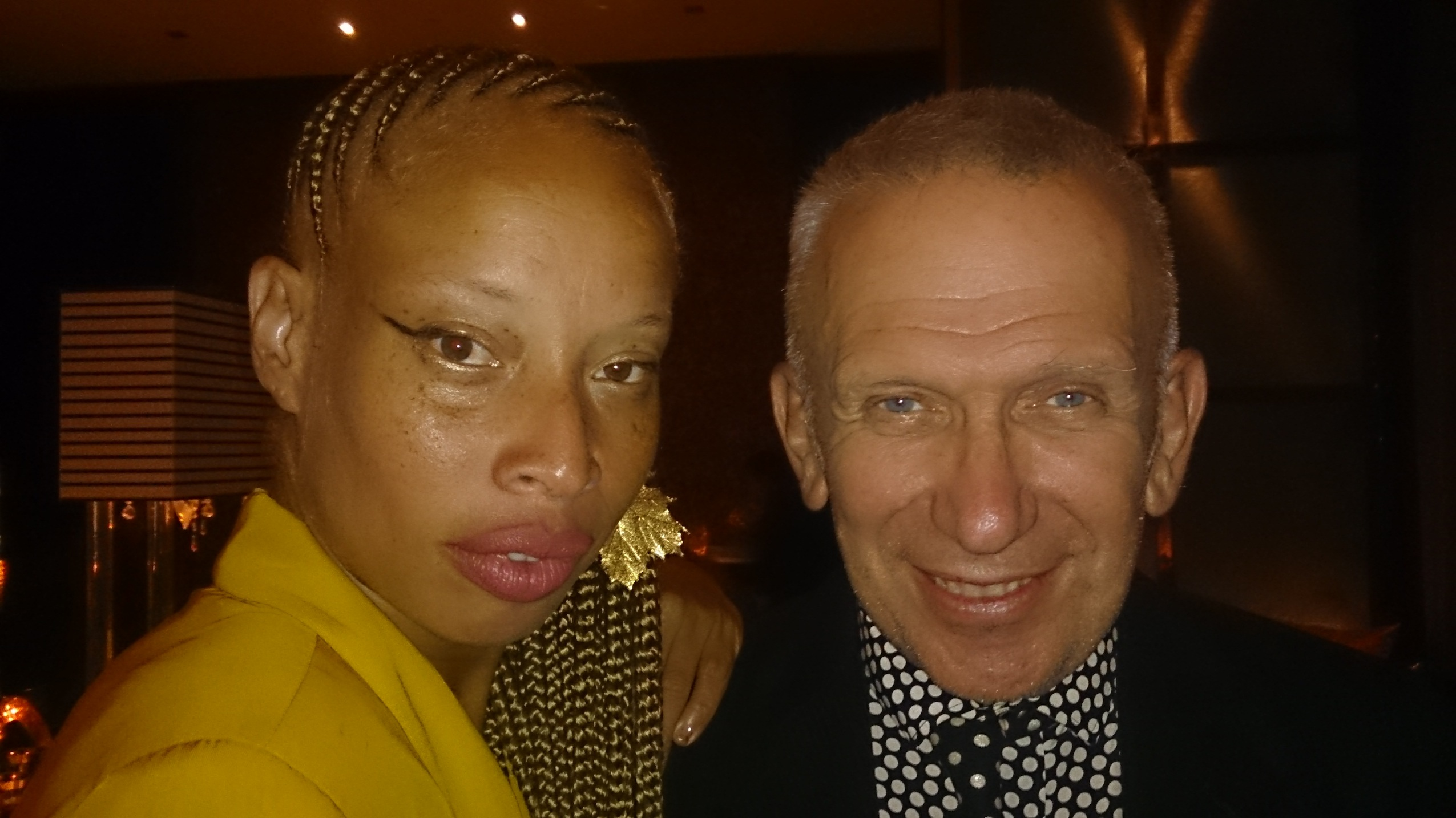 Stacey and Jean Paul Gaultier